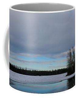 Tranquil Arctic River Coffee Mug