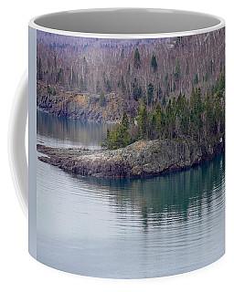 Tranquility In Silver Bay Coffee Mug
