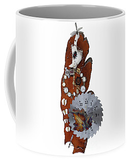 Trapped In The Fourth Dimension Coffee Mug