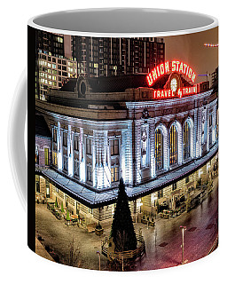 Travel By Train - Denver Union Station Coffee Mug