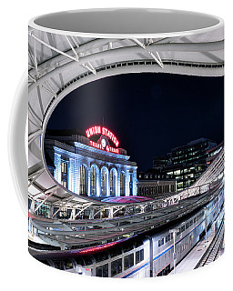 Travel By Train - Union Station Denver #2 Coffee Mug