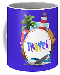 Travel World Coffee Mug