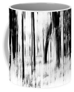 Coffee Mug featuring the photograph Tree Abstract In Black And White by Angie Tirado