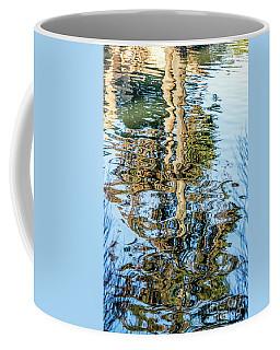 Tree Reflection Abstract Coffee Mug