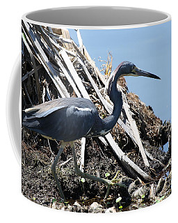 Tri-colored Heron 40312 Coffee Mug