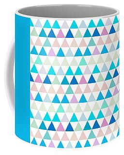 Triangle Abstract Background- Efg206 Coffee Mug