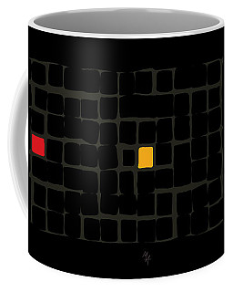 Tricolor In Black Coffee Mug