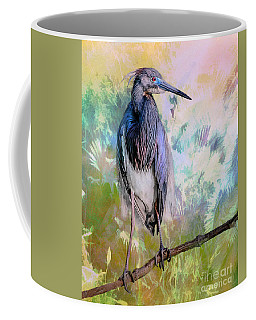 Tricolored Heron Coffee Mug