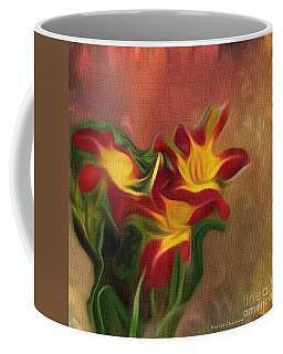 Trio Of Day Lilies Coffee Mug