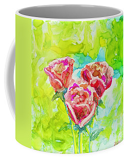 Trio Of Roses Coffee Mug