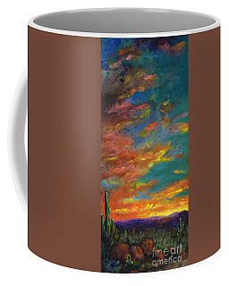 Triptych 1 Desert Sunset Coffee Mug