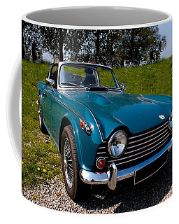 Triumph Tr5 Blue Coffee Mug