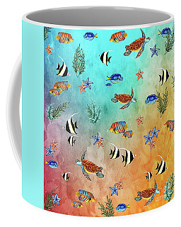 Tropical Seaworld By Kaye Menner Coffee Mug