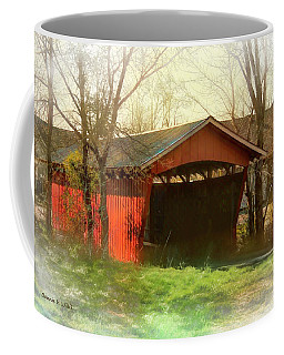 Troys Little Covered Bridge Coffee Mug