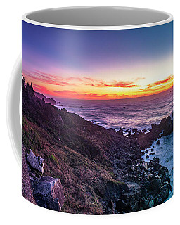 True Love By The Solstice Sunset Coffee Mug