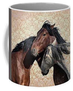 Coffee Mug featuring the photograph Trying To Fit In by Mary Hone