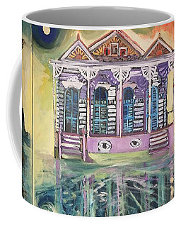 Tryptic On The Bayou New Orleans Coffee Mug