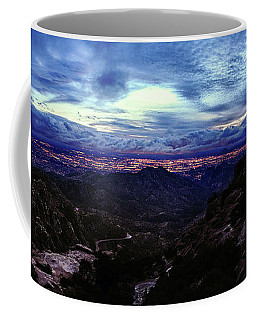 Tucson Twilight Panorama Coffee Mug