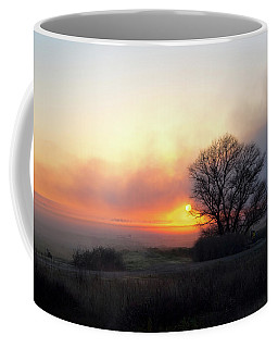 Tule Fog Sunrise  Coffee Mug