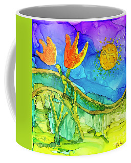 Tulip Hugs Coffee Mug