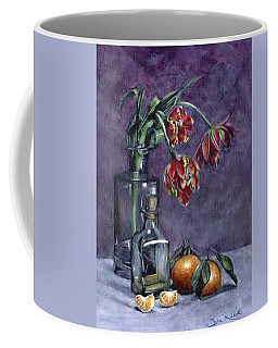 Tulips And Oranges Coffee Mug