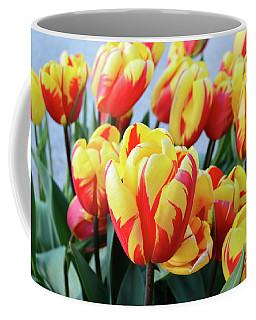 Tulips And Tiger Stripes Coffee Mug