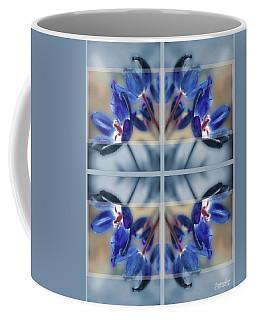 Tulips Of Stained Glass Coffee Mug