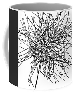 Coffee Mug featuring the photograph Tumbleweed. -  Wild  Thing by VIVA Anderson