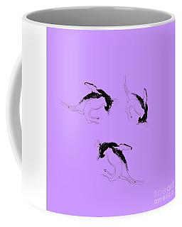 Tumbling Penguins Coffee Mug