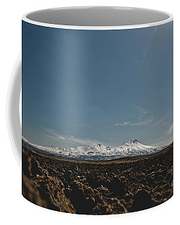 Turkish Landscapes With Snowy Mountains In The Background Coffee Mug