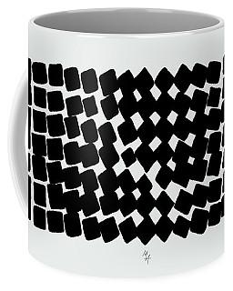 Coffee Mug featuring the digital art Turn by Attila Meszlenyi