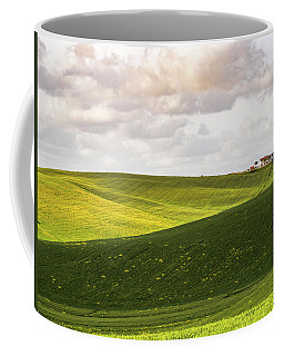 Tuscan Landscapes. Hills In The Spring Coffee Mug