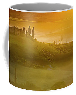 Tuscany In Gold Coffee Mug