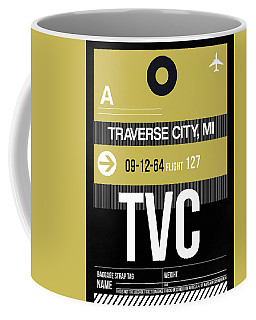 Tvc Traverse City Luggage Tag II Coffee Mug
