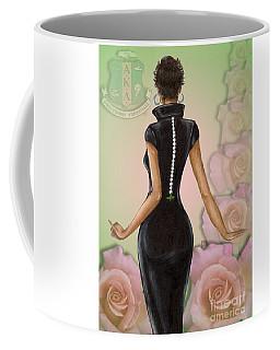 Twenty Pearls N Pink Roses Coffee Mug