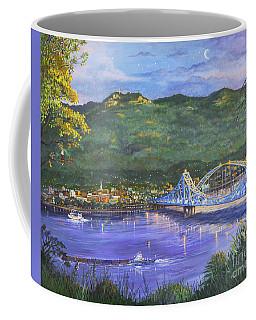 Twilight At Blue Bridges Coffee Mug