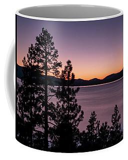 Twilight At Lake Tahoe Coffee Mug