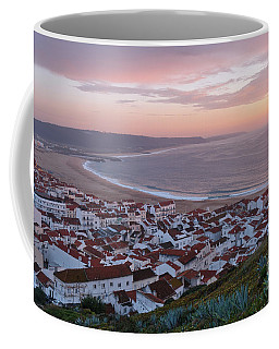 Twilight At Nazare Village Coffee Mug