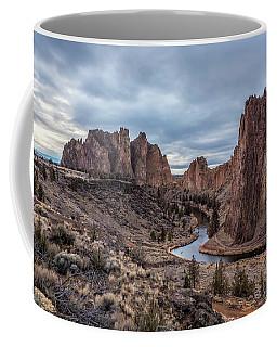 Twilight At Smith Rock State Park Coffee Mug