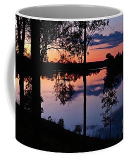 Twilight By The Lake Coffee Mug