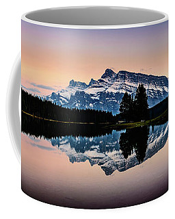Twilight, Two Jack Lake Coffee Mug