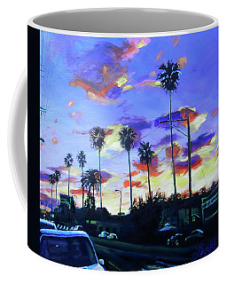 Twilight At Figueroa And 40th  Coffee Mug