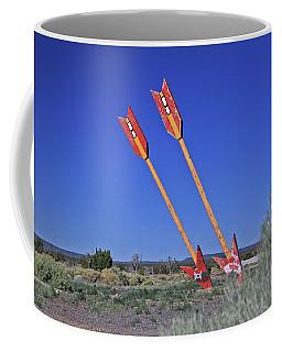 Twin Arrows Coffee Mug