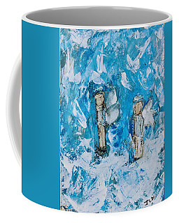 Twin Boy Angels Coffee Mug