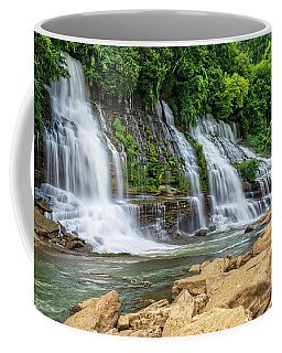 Twin Falls In Rock Island State Park Coffee Mug