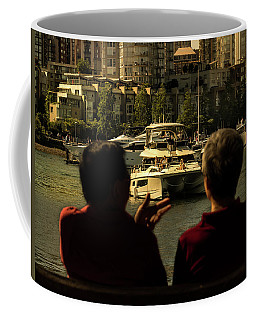 Two Friends At The Vancouver Bay Coffee Mug