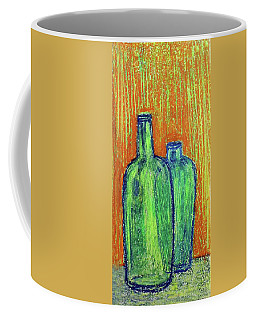 Two Green Bottles Coffee Mug