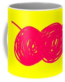 Two Red Cherries Coffee Mug