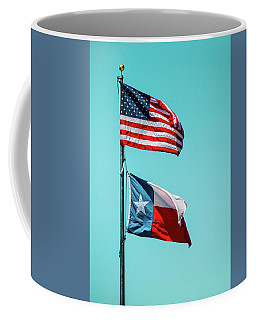 Coffee Mug featuring the photograph Two Republics by SR Green