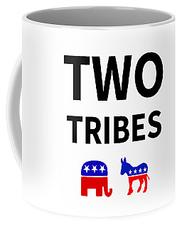 Two Tribes Coffee Mug